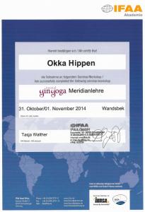 Zertifikat Yin Yoga Meridianlehre