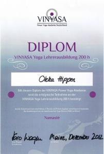Diplom Vinyasa Yoga Trainerausbildung